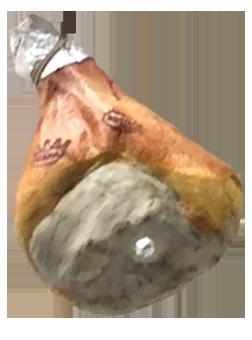 Parma con osso tentativo